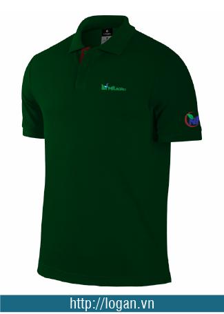 áo thun đồng phục xanh rêu