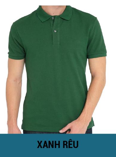 áo thun đồng phục màu xanh rêu