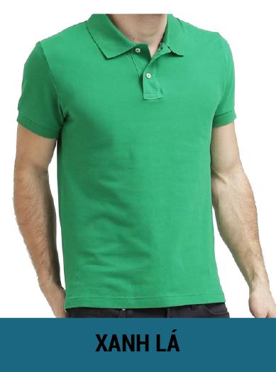 áo thun đồng phục màu xanh lá