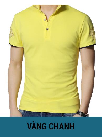 áo thun đồng phục màu vàng chanh