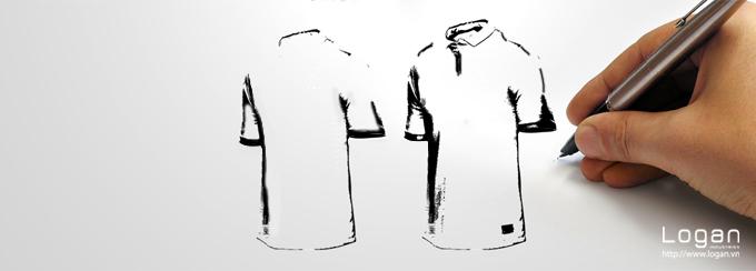 May áo thun đồng phục. Nhận may áo thun đồng phục
