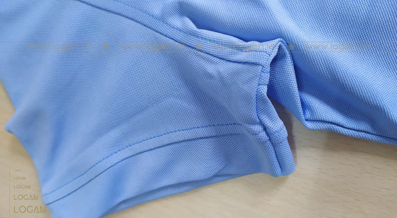 áo thun xanh xám