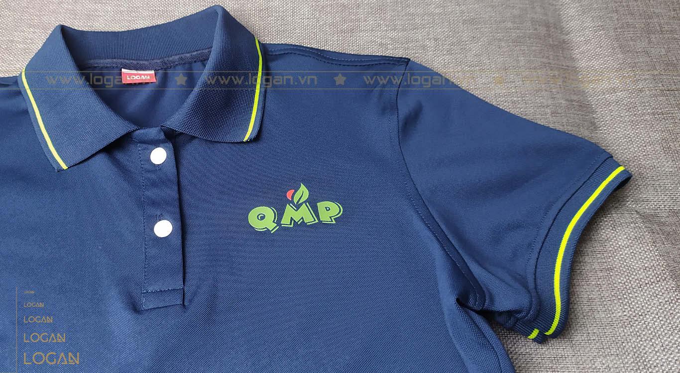 áo thun xanh đen phối xanh lá