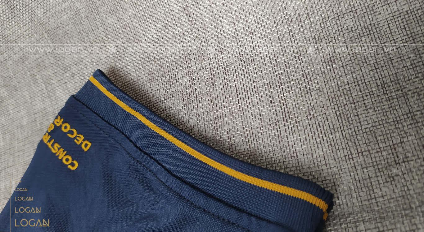 áo thun đồng phục xanh đen đồng