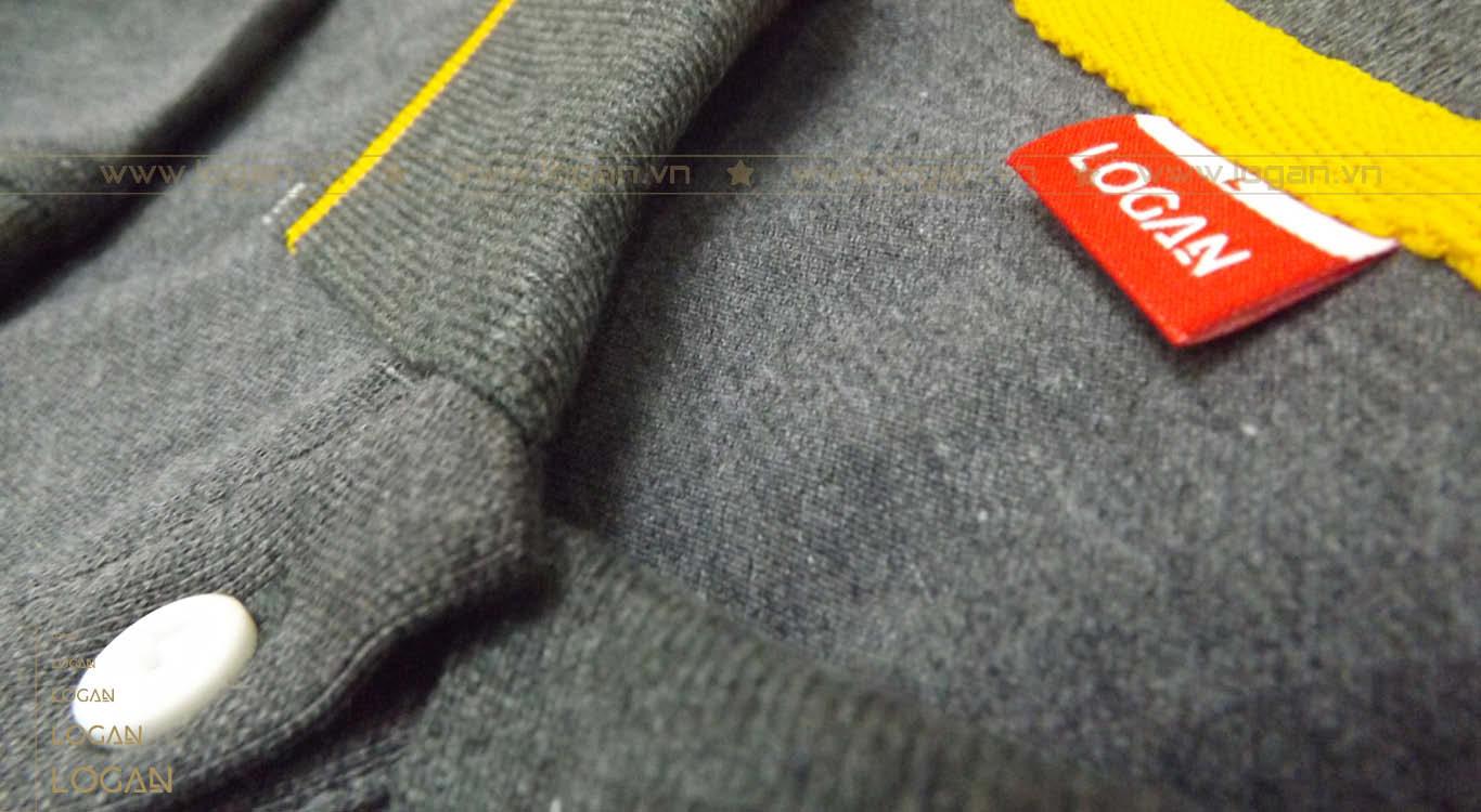 áo thun đồng phục xám lông chuột