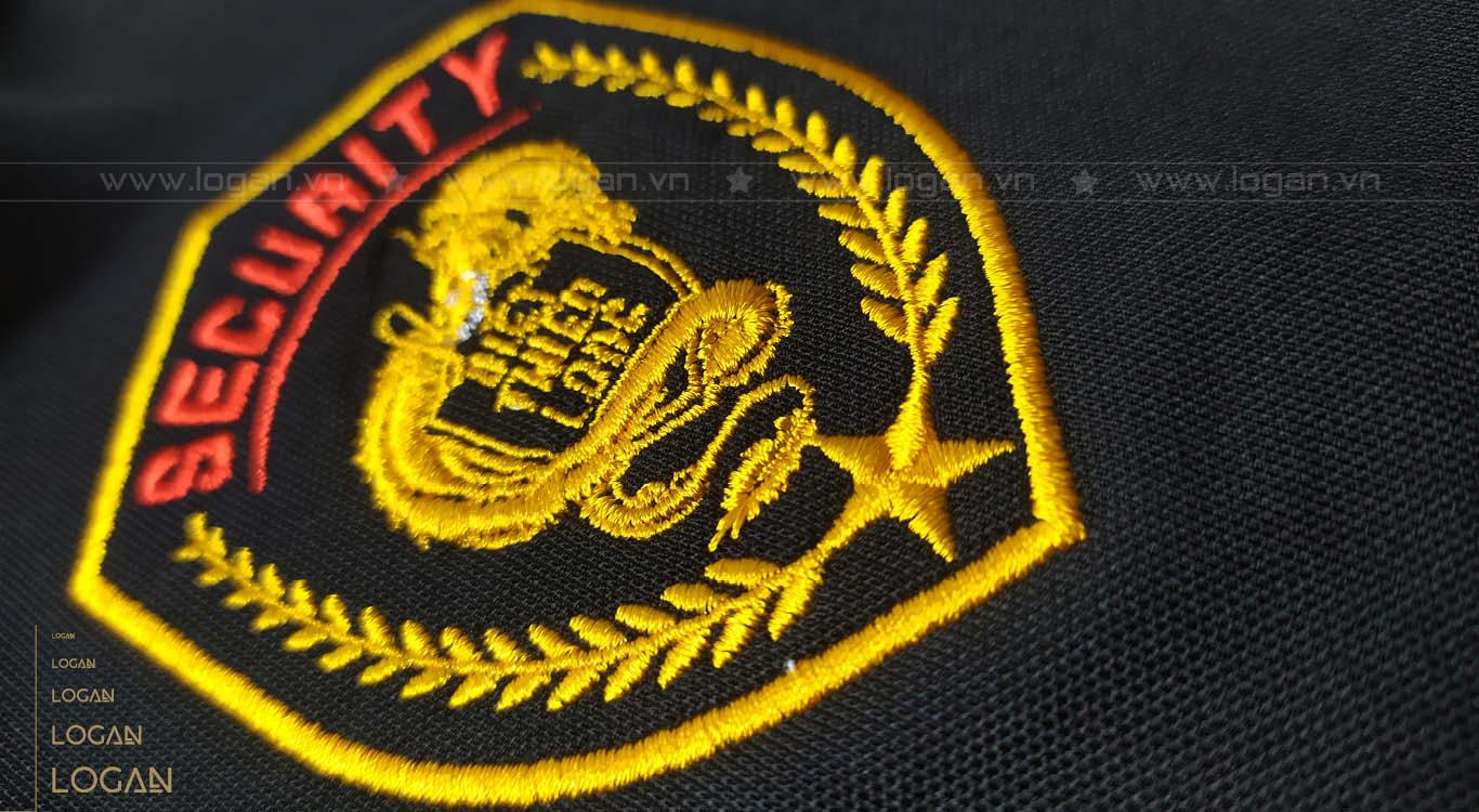 áo thun đồng phục đen vàng